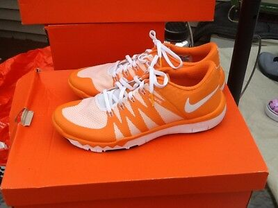 the best attitude a4571 874eb Tennessee Volunteers Nike NCAA Manning Chesney Free Trainer 5.0 Shoes size 9