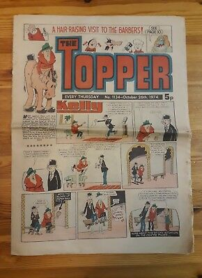 The topper comic #1134 October 26th 1974