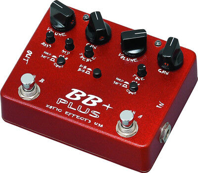 Xotic BB Plus Verzerrer Overdrive Distortion Booster Preamp