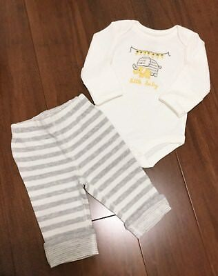 Gymboree 0-3 Months Baby Boy Girl Unisex Bodysuit & Pants Set Lot