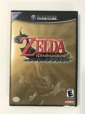 Legend of Zelda: The Wind Waker, w/ Manual Good/Very Good Condition (GameCube)