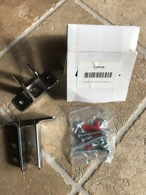 Global Steel #40-8511281 HDW ZA KIT Urinal Brackets, New in Box, Free Shipping