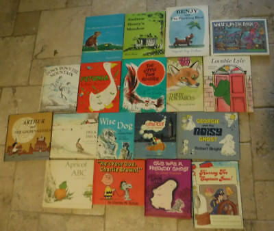 LOT of 18 Vintage Weekly Reader Children's Book Club kids books RARE 60's 70s HC