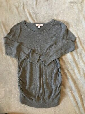 Motherhood Maternity Gray Sweater Size Medium