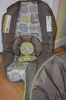 Graco SnugRide 30 Click Connect Baby Car Seat Cushion Cover Canopy Pad & GRACO CAR Seat SNUGRIDE 20 22 Baby Infant Carrier Cover Canopy Set ...