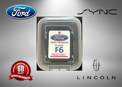 F Map Update Ford Lincoln Escape Edge Explorer F Navigation Sd Card Oem