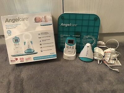 Angelcare movement and sound monitor AC401 used but works perfectly