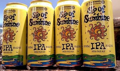 Lawson's Sip Of Sunshine Ipa Collectible 4Pk Cans-The Real Deal