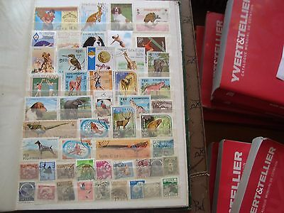 ASIE - 49 stamps canceled (all state) stamp