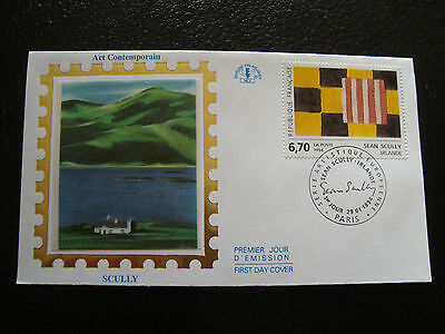 FRANCE - envelopes 1st day 29/1/1994 (sean scully) (cy21) french