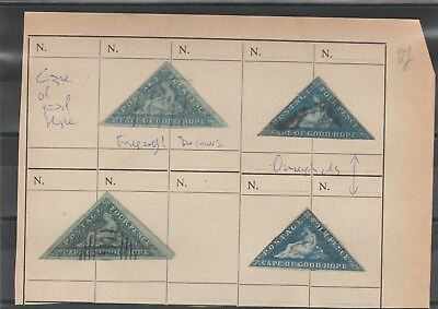 Cape Of Good Hope, Nice Lot Of Classics, From Stamp Expert Archive, See!!