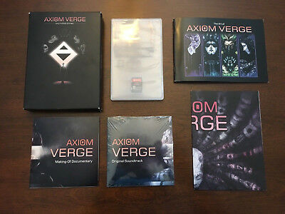Axiom Verge: Multiverse Edition Limited Edition for Nintendo Switch!!