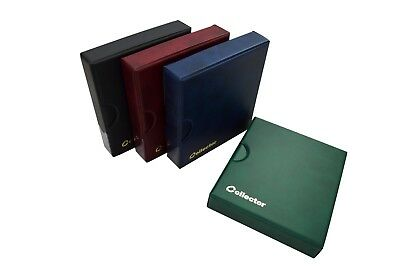 4x COLLECTOR ALBUMS IN CASE FOR 221 COINS EACH - ALBUM BOOKS FOLDERS - 884 COIN