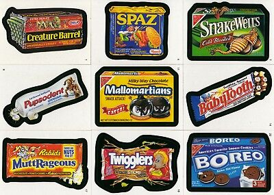 Wacky Packages A New Series Ans 4 2006 Topps Complete Base Card Set Of 55 Sf