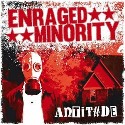 ENRAGED MINORITY ANTITUDE LP / Easter Sale - Punk, Oi!, HC