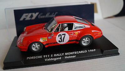 FLY Porsche 911 S Rally Montecarlo 1969 Valdegard - Helmer No 37 Rot Neu in Box