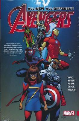 ALL-NEW, ALL-DIFFERENT AVENGERS VOl #1 HARDCOVER Mark Waid Comics #1-12 HC