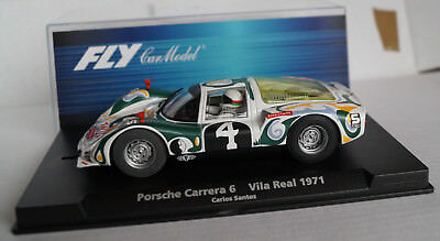 FLY Porsche Carrera 6 Vila Real 1971 Carlos Santos No 4 Neu in Box