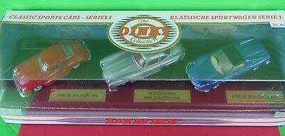 1991 Dinky Dy-902 Classic Sports Car Series I Porsche, Mercedes-Benz & Ferrari