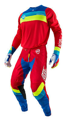 2017 Troy Lee Designs SE Corsa Mens Jersey & Pants Combo Red