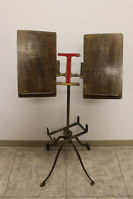 Antique Adjustable Bible Dictionary Book Stand by C. Geo J Flanagan