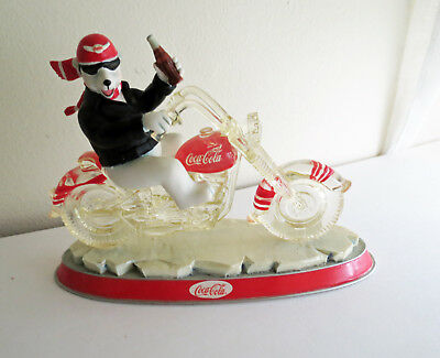 Coca - Cola Cruisers Collection -ONE COOL RIDE- FIGURINE no box Harley DavidsonC