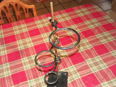 Vintage Labratory Ring Stand with 3 rings CENCO