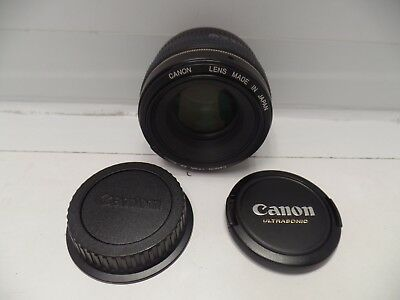 Genuine Canon Ultrasonic EF 50mm f1.4 USM Lens 50/1.4 1:1.4 tested MINT COND