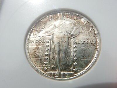 1917-s type 2 standing quarter old anacs graded MS63! FREE shipping, NEVER tax!!