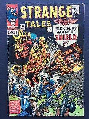"Strange Tales # 142 March 1966 FN+ ""NO ROOM FOR TITLE!"""