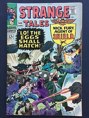 "Strange Tales # 145 June 1966 FN/VF ""LO! THE EGGS SHALL HATCH!"""