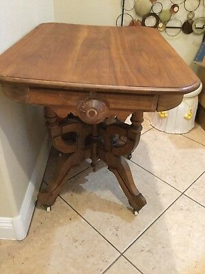 Antique Hall Misc Wood Table Local Pickup Only