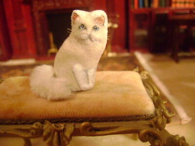 dollhouse miniature  cat ~ hand made ~