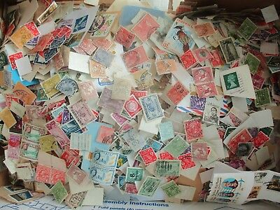 ESTATE: World in box unchecked unsorted Kangaroos, KGV Noted HEAPS (7861)