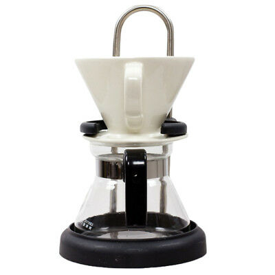 Coffee Maker Set Coffee Brewing with Coffee Filter Borosilicate Glass Carafe