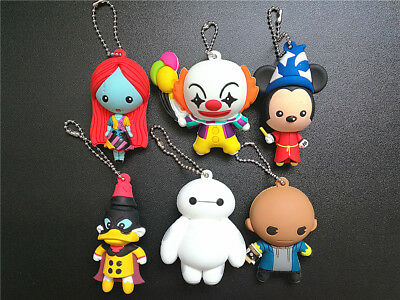 Disney  DC Horror Series Pennywise MICKEY 3D keyring chain