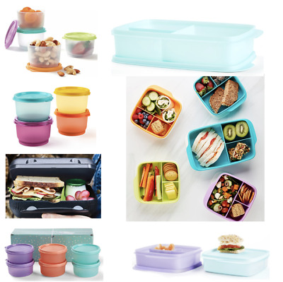 Tupperware Lunch & Snack Container Range ~School~Work~Cups~Squares~Sandwich Box