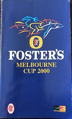 2000 Melbourne Cup Race Book
