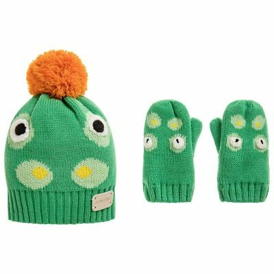 Blade & Rose - Crocodile Collection - Bobble Hat & Mitten Set - Various Sizes