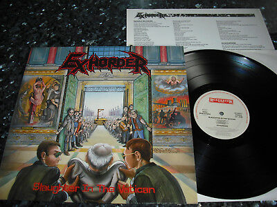 EXHORDER - Slaughter in the Vatican LP 1st press 1990 (RC 9363 1 / NL) ;Slayer;
