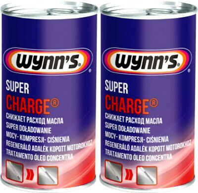 WYNN'S Super Charge 2x 325ml Dose Ölverbrauchsstop