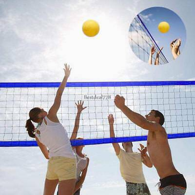 Outdoor-Portable Volleyball Set For Backyard Net With Bag Ball Pump Volleyball