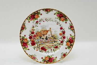 Royal Albert Old Country Roses Cottage Dinner Plate Plates 10.5 Inch