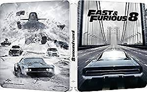 Fast And Furious 8 Blu Ray Steelbook  Blue-Ray Azione