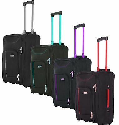 New Cabin Approved On Board Wheeled Hand Luggage Travel Trolley Holdall Bag Case