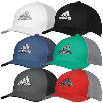 Adidas Golf 2018 Mens Climacool Tour Stretch-Fit Cap Hat