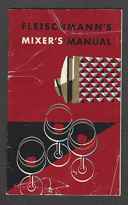 1950's Fleischman's Mixer's Manual Booklet