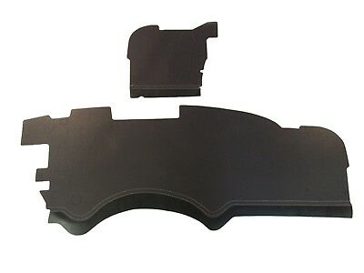 1957 FULL SIZE CHEVY FIREWALL INSULATION PAD KIT, 2 PIECES, w/CLIPS
