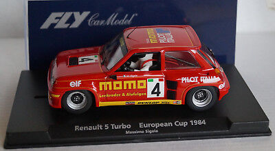 FLY Renault 5 Turbo European Cup 1984 Massimo Sigala No 4 Rot in Box  Neu