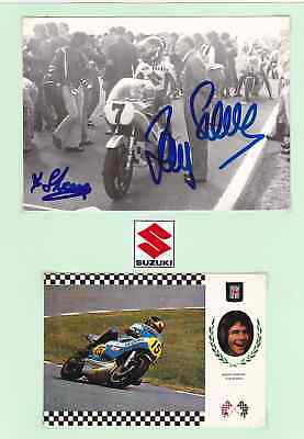Barry Sheene+Suzuki+Champion+Autograph+ † 2003